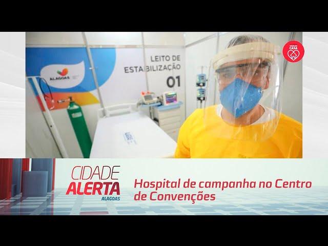 Hospital de campanha no Centro de Convenções é entregue com 150 leitos