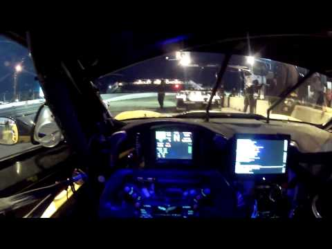 Corvette Racing's Tommy Milner at Sebring - /DRIVER'S EYE