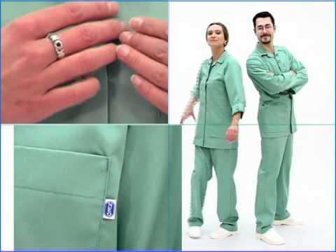Darbo drabužiai medikams
