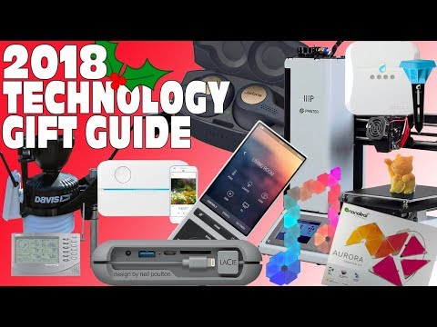 Top Tech & Gadget Gift Guide Christmas wishlist 2018