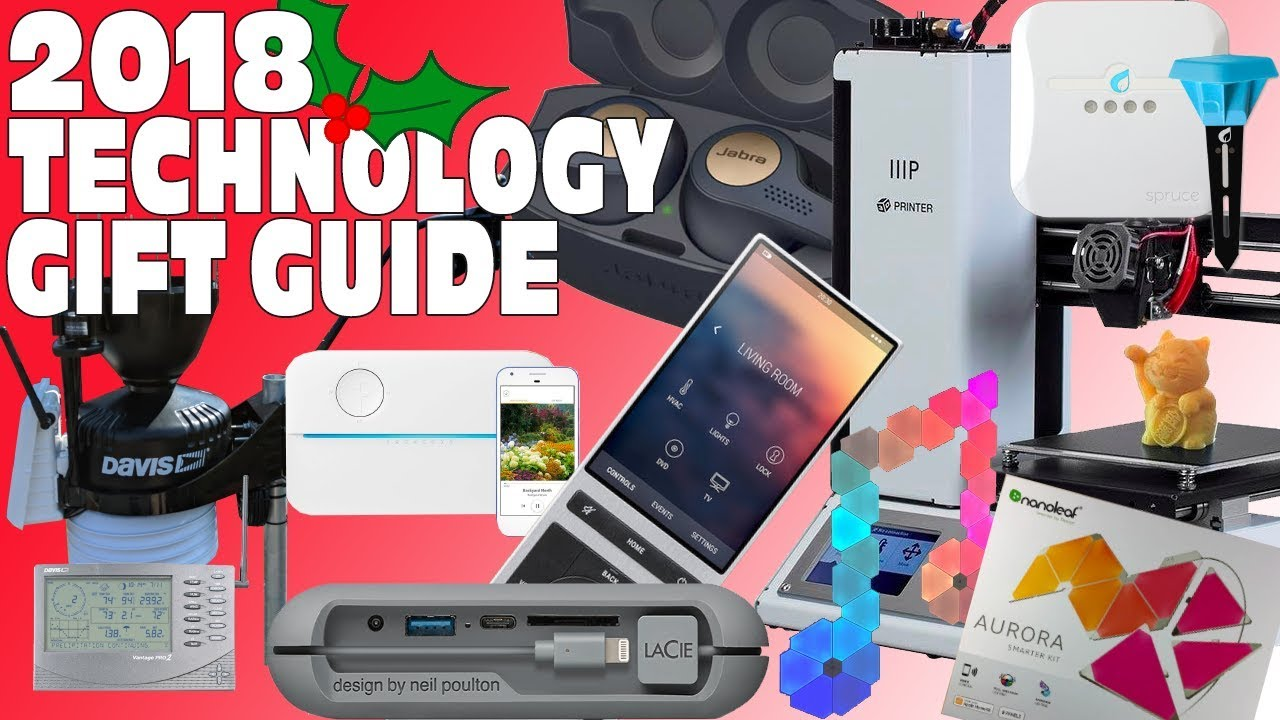 Top Tech u0026 Gadget Gift Guide Christmas wishlist 2018  sc 1 st  YouTube & Top Tech u0026 Gadget Gift Guide Christmas wishlist 2018 - YouTube