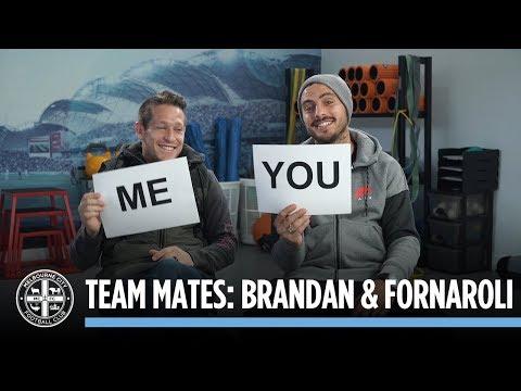 TEAM MATES: Fernando Brandan & Bruno Fornaroli