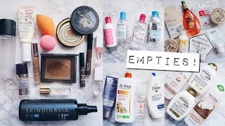 Empties #11 | October 2017