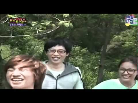 Daesung Acting Like Chucky In Family Outing XD