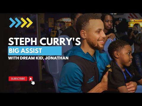 Steph Curry Makes A Dream Come True