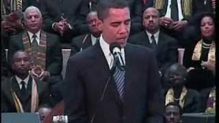 Barack Obama Speaks at Dr. King's Church