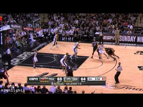 Heat vs Spurs: Game 2 Full Game Highlights 2014 NBA Finals - LeBron Bounces Back