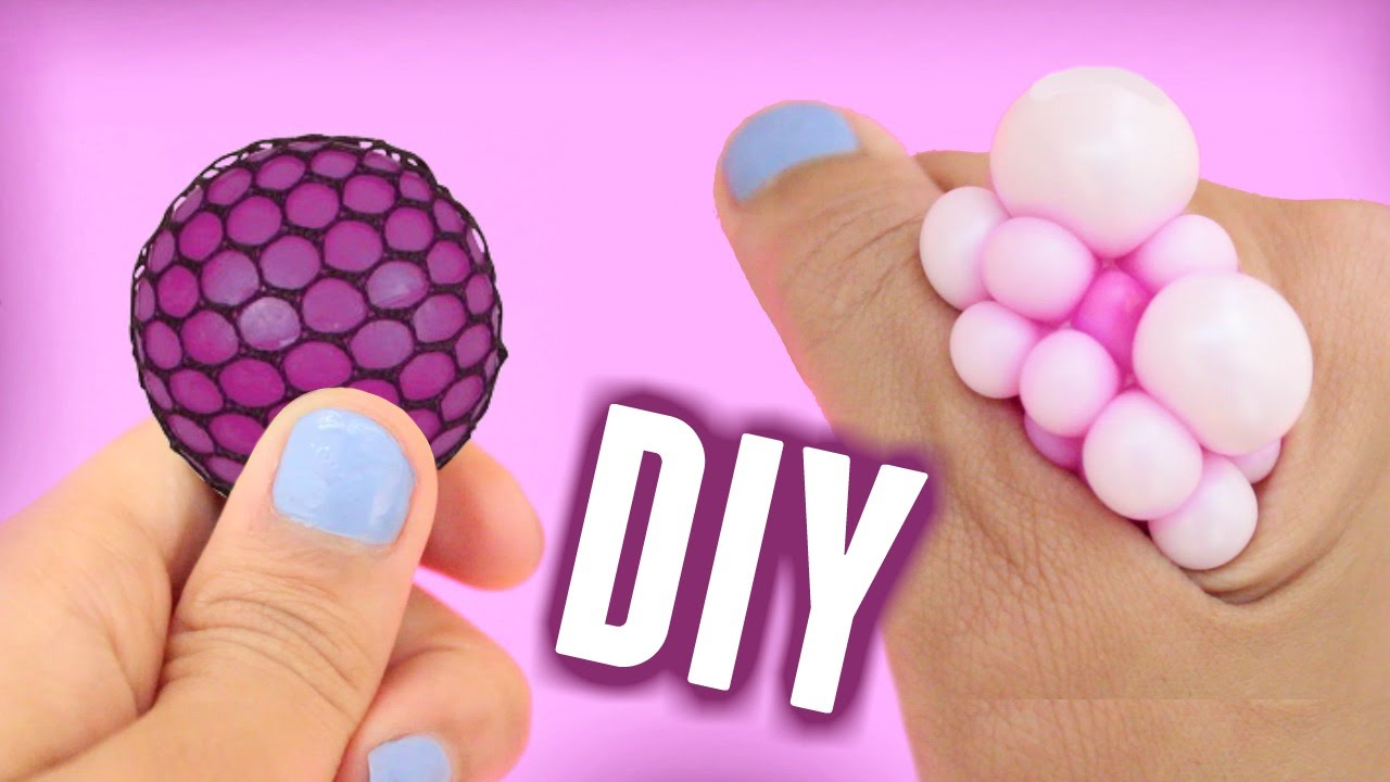 Squishy Mesh Ball Nerede Satlllr : DIY: MINI Squishy Mesh Stress Ball! - YouTube