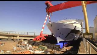 Harmony of the Seas - Construction time lapse