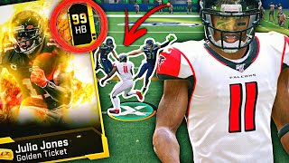 NEW RUNNING BACK JULIO JONES CARD? HOW GOOD IS HE??