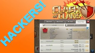 Clash of Clans - HACKERS! CHEATERS EXPOSED IN CLAN WAR 100% PROOF!