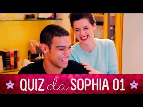 Sophia Abrahão - Quiz da Sophia 01 / part Sergio Malheiros