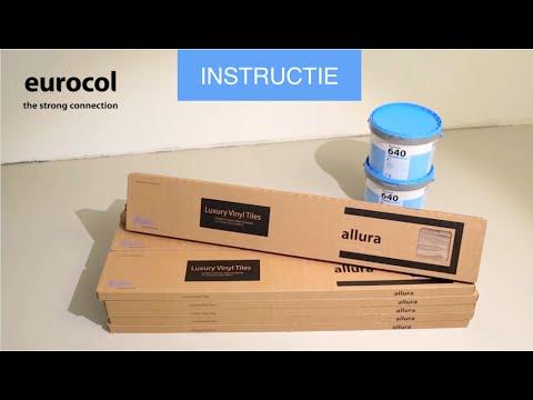Eurocol instructie lvt pvc vloer leggen youtube
