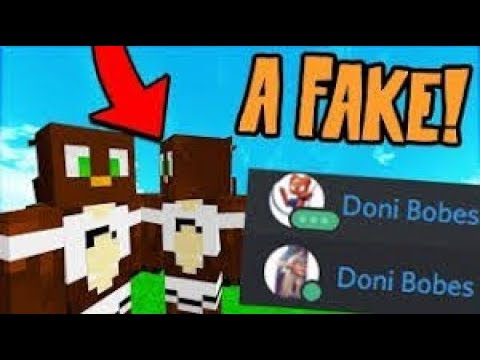CONFRONTING A FAKE DONI BOBES ON SKYPE! (Minecraft Trolling)