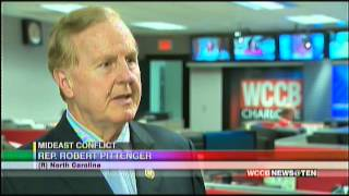 WCCB:  Congressman Pittenger on Israel/Gaza conflict