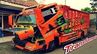 Download Video Truck Modifikasi TRANSFORMERS JayaDipa Karoseri Concept MP3 3GP MP4