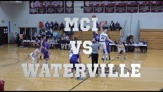 MCI vs Waterville Boys Basketball Highlights