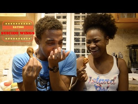BAHAMAS TRAVEL VLOG 1 - Eating Suicide Wings in Nassau!