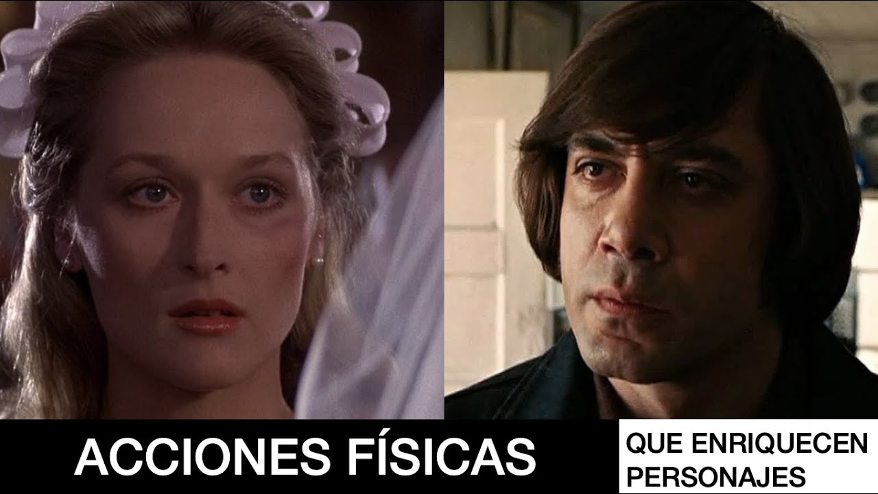 Meryl Streep & Javier Bardem - Acciones Físicas en 2 minutos | Mat Cruz