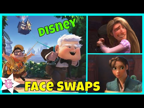 Funniest Disney Face Swaps | Try Not To Laugh
