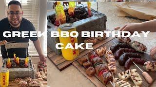 MY GREEK BBQ BIRTHDAY CAKE