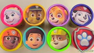 Paw Patrol Play Doh Surprises and Outfit Changes