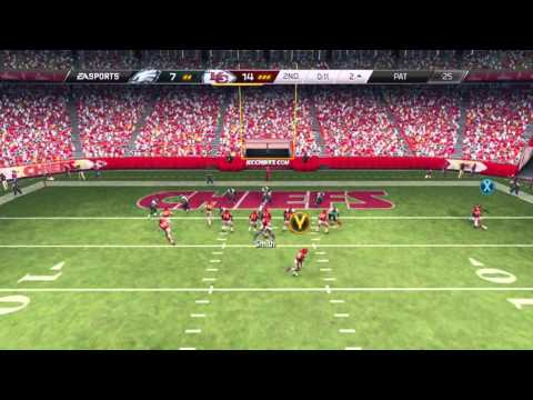 Madden 25 Online Ranked Game - Perfect Passer Rating! | Eagles Vs. Chiefs Online Ranked