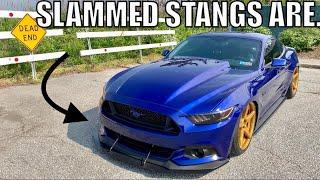 LOWERED 2018 Mustang GT vs SLAMMED 2015 Mustang GT *What's Better*