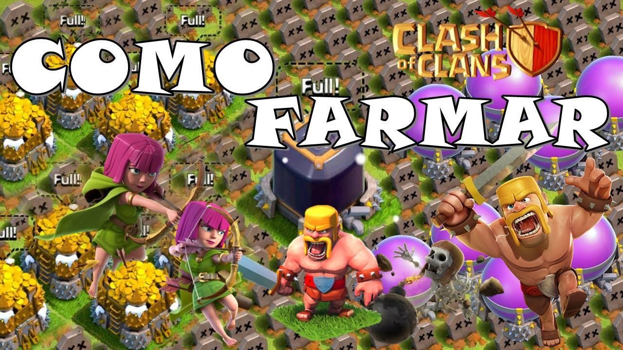 Dicas para farm cv7 / cv8 | Farmando muito Clash Of Clans