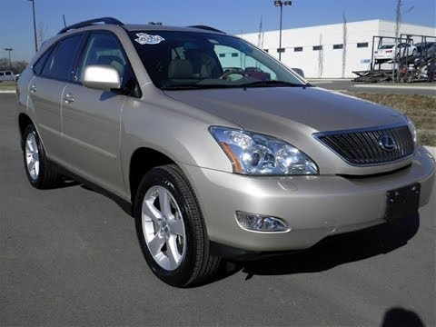 sold.2007 LEXUS RX350 FWD 1 OWNER 51K CHAMPAGNE LEATHER NAVIGATION CALL 855.507.8520