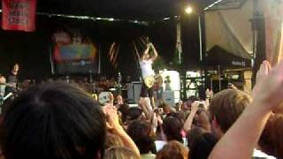 All Time Low at Warped Tour 2009