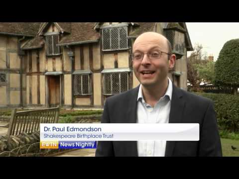 Visiting William Shakespeare's Birthplace