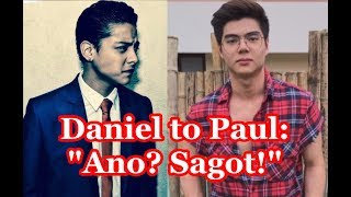 Away ni Daniel Padilla at Paul Salas Sumabog sa Twitter