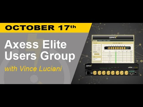 Getting the most out of your Axess Elite - Power Hour Webinar