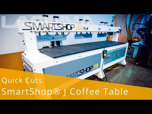 QuickCut: SmartShop® J Coffee Table | Laguna Tools