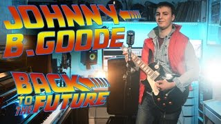 Johnny B Goode Cover - Back To The Future - 30th Anniversary - Josef Pitura-Riley