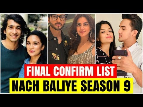 Final Confirm Names Of Nach Baliye Season 9 Contestants | Salman Khan Mp3