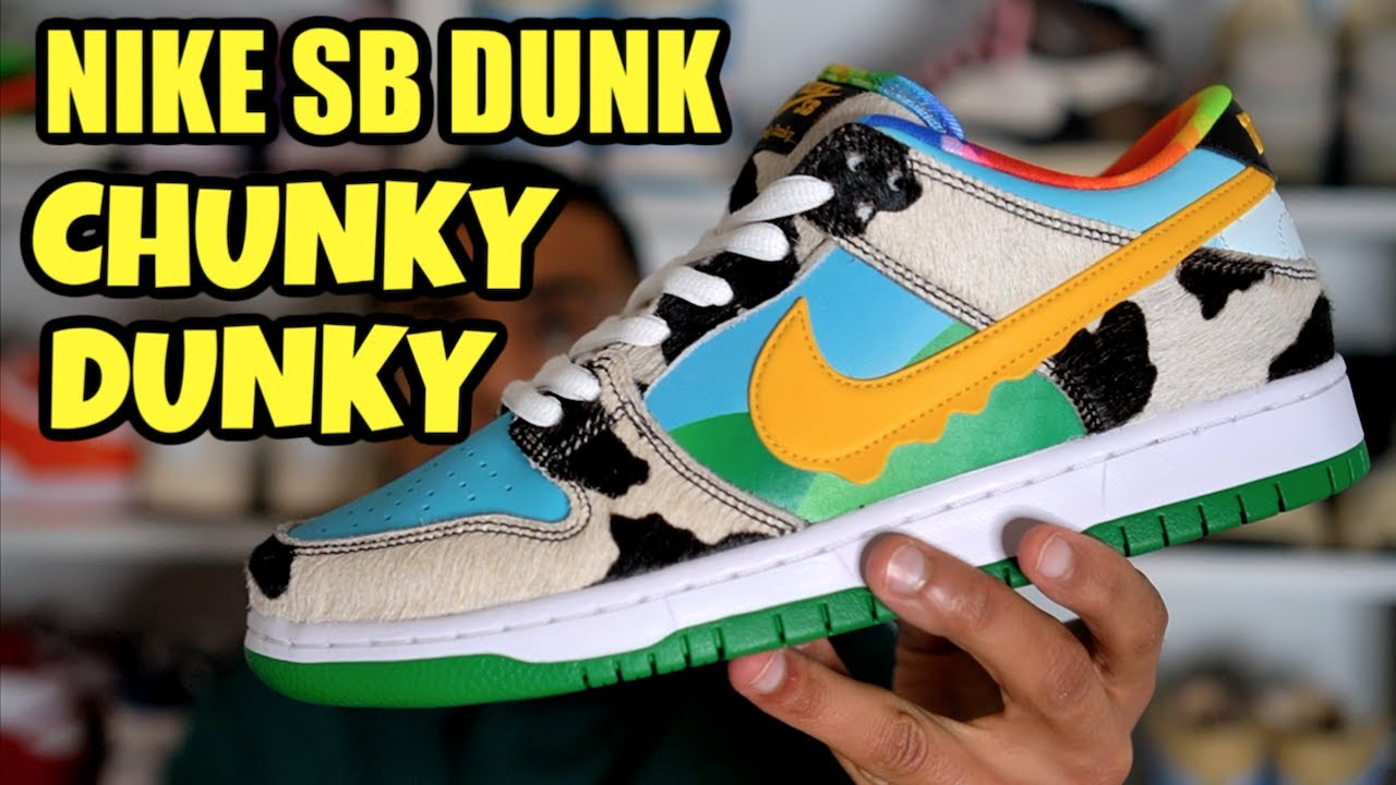 Nike, Ben & Jerry's new Nike SB Chunky Dunky sneakers selling for ...