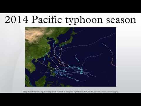 2014 Pacific typhoon season
