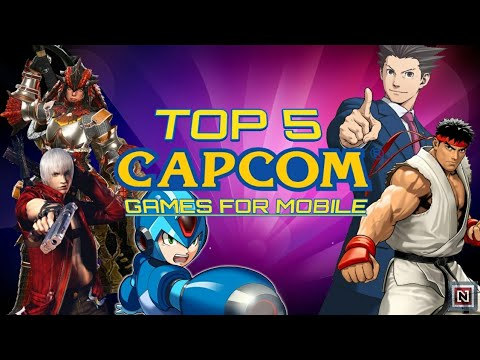 Top 5 Capcom Games For Android & IOS