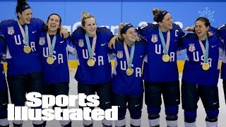 USA Wins First Olympic Hockey Gold Medal In 20 Years | SI Wire | Sports Illustrated