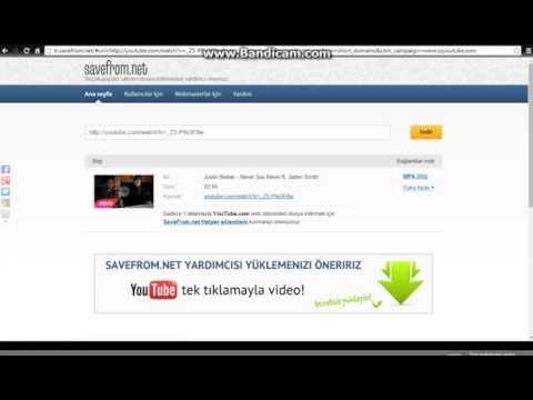 Youtube'den Kolay Bir Şekilde Görüntülü Video İndirme(Sesli Anlatım)