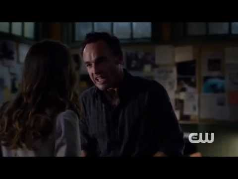 Arrow  Katie Cassidy gets emotional about her  with Paul Blackthorne