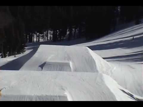 Mt. Hood Meadows Snowboarding Brad Lewis