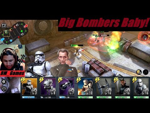 Star Wars Force Arena Dropping Big Bombs With Grand Moff Baby!
