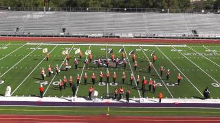 Orangefield High School Band 2012 - UIL Region 10 Marching Contest