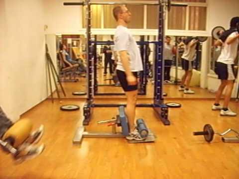 Roman Chair Squat demo & Roman Chair Squat demo - YouTube
