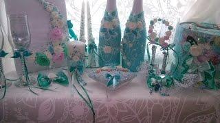 Мастер класс свадебные бутылки