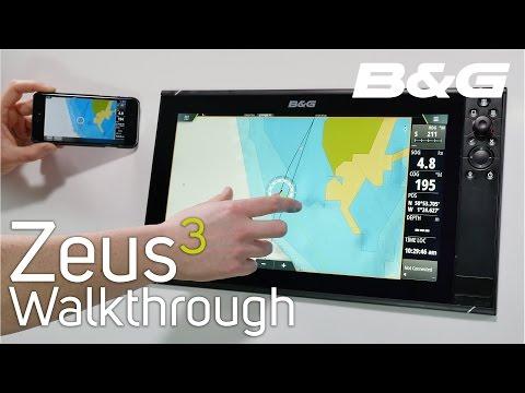 B&G Zeus3 Walkthrough