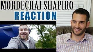 SINGING TEACHER reacts to MORDECHAI SHAPIRO singing B'YACHAD